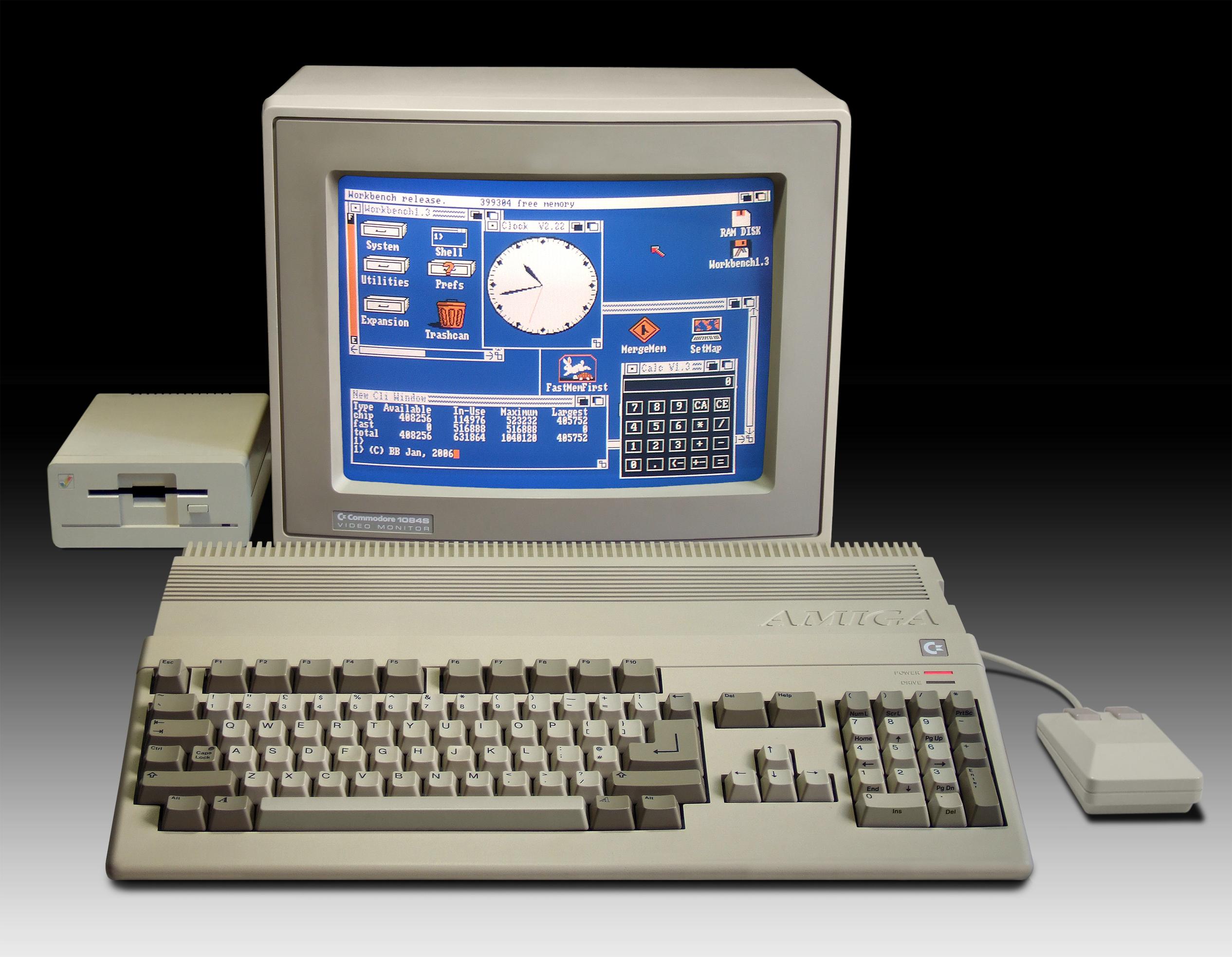 Am Anfang war ein Amiga 500